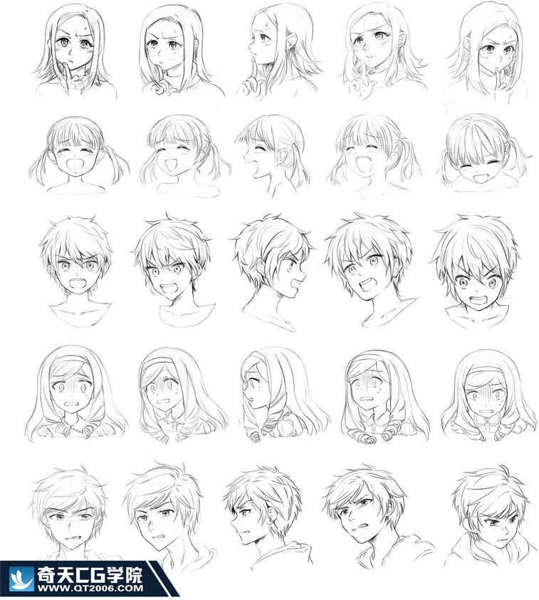 奇天CG学院,手绘亚博在线娱乐,胡万方-(2)