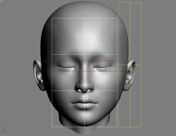 3dmax建模教程之女性角色模型(一)