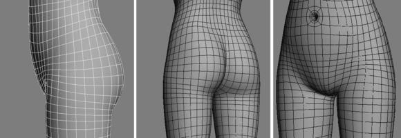 3dmax建模教程之女性角色模型(四)