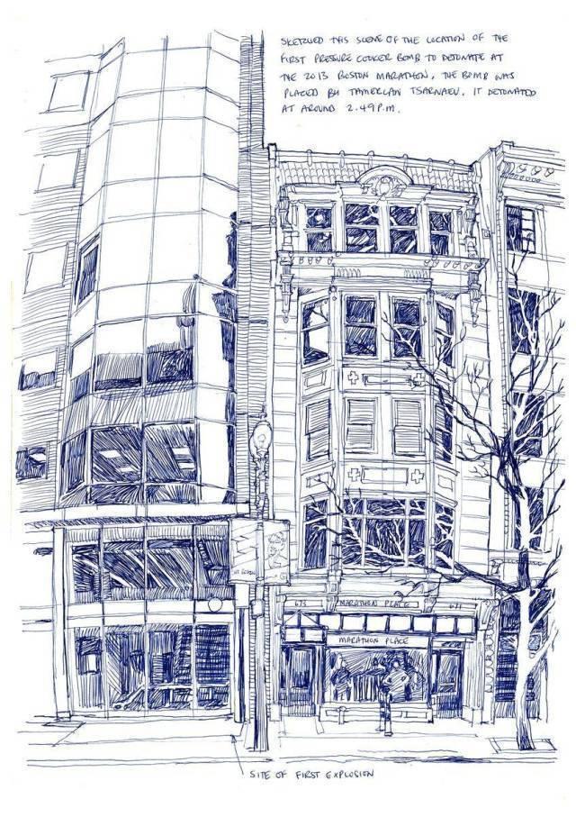 最系统的风景建筑手绘教程