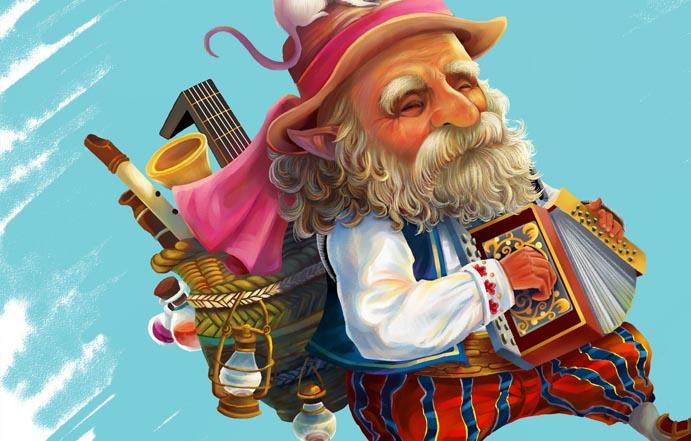 手风琴老人