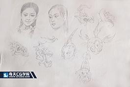 奇天CG学院,亚博在线娱乐_亚博体育下载_亚博体育下载appios,手绘作品24