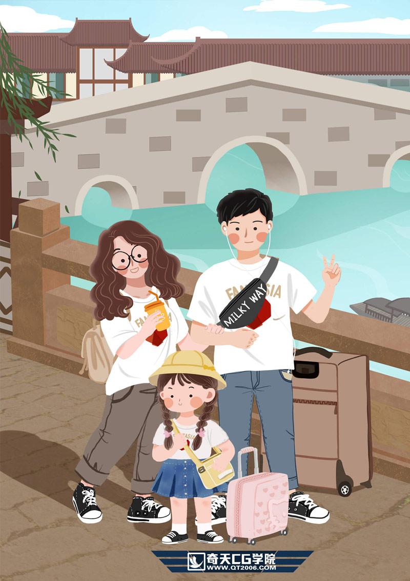 奇天CG学院,视觉亚博在线娱乐,旅游