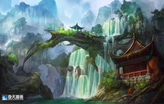 中国风场景