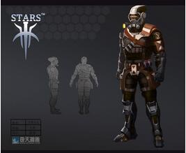 奇天CG学院,游戏角色,机甲士兵
