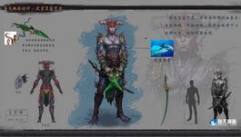 奇天CG学院,游戏角色,虎鲨皇家守卫