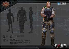 奇天CG学院,游戏角色,JIM队长