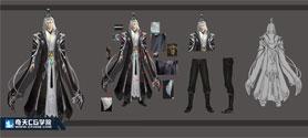 奇天CG学院,游戏角色,-角色设计