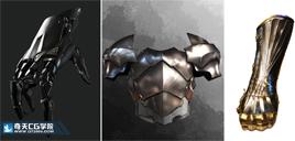奇天CG学院,游戏角色,材质表现